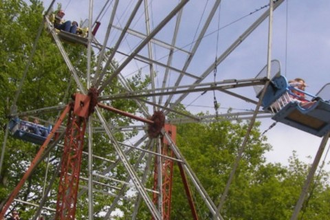 Big Wheel at Hollycombe