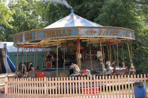 Mr Field's Steam Circus Dobbies set