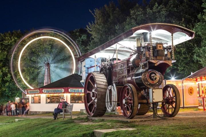 Fairground at Night by Andy McKenna