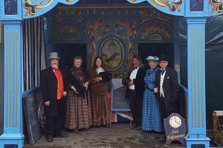 Hollycombe Bioscope open for Victorian Magic Lantern shows