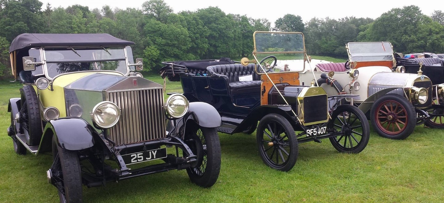 Classic Vehicles at Hollycombe