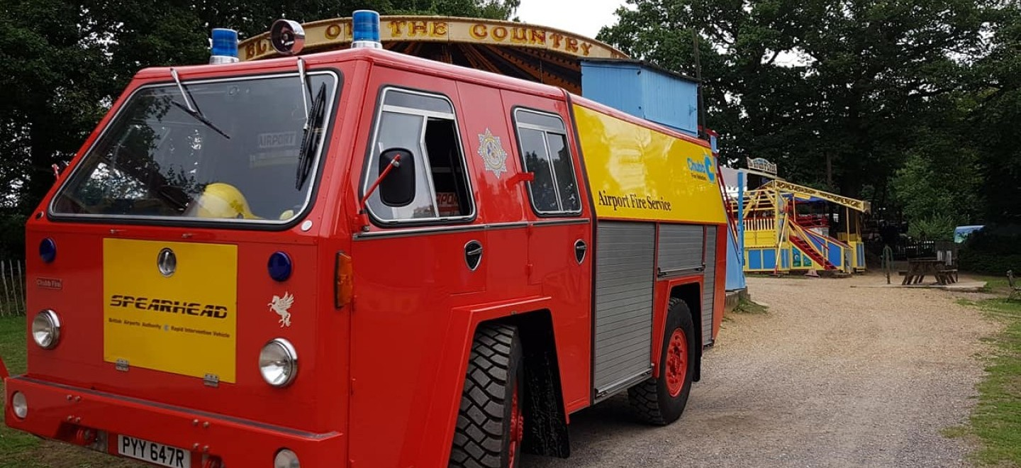 Spearhead Fire Engine at Hollycombe