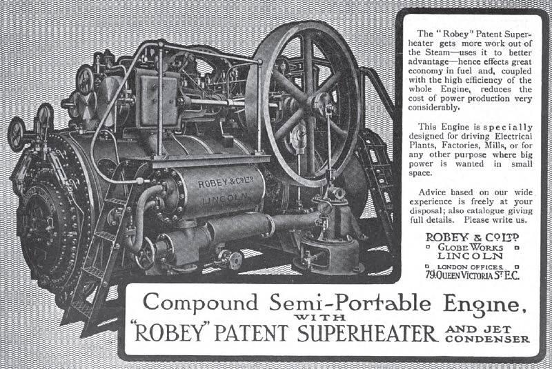 Robey engine