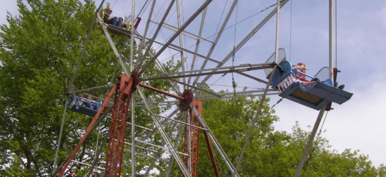Big Wheel at Hollycombe
